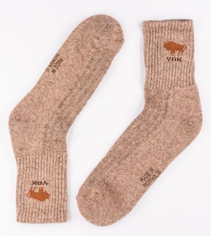 Yak Socken beige