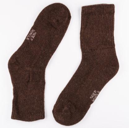 braune Yak-Socken